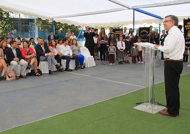 Alcalde Joaquín Lavín inaugura el Año Escolar 2018