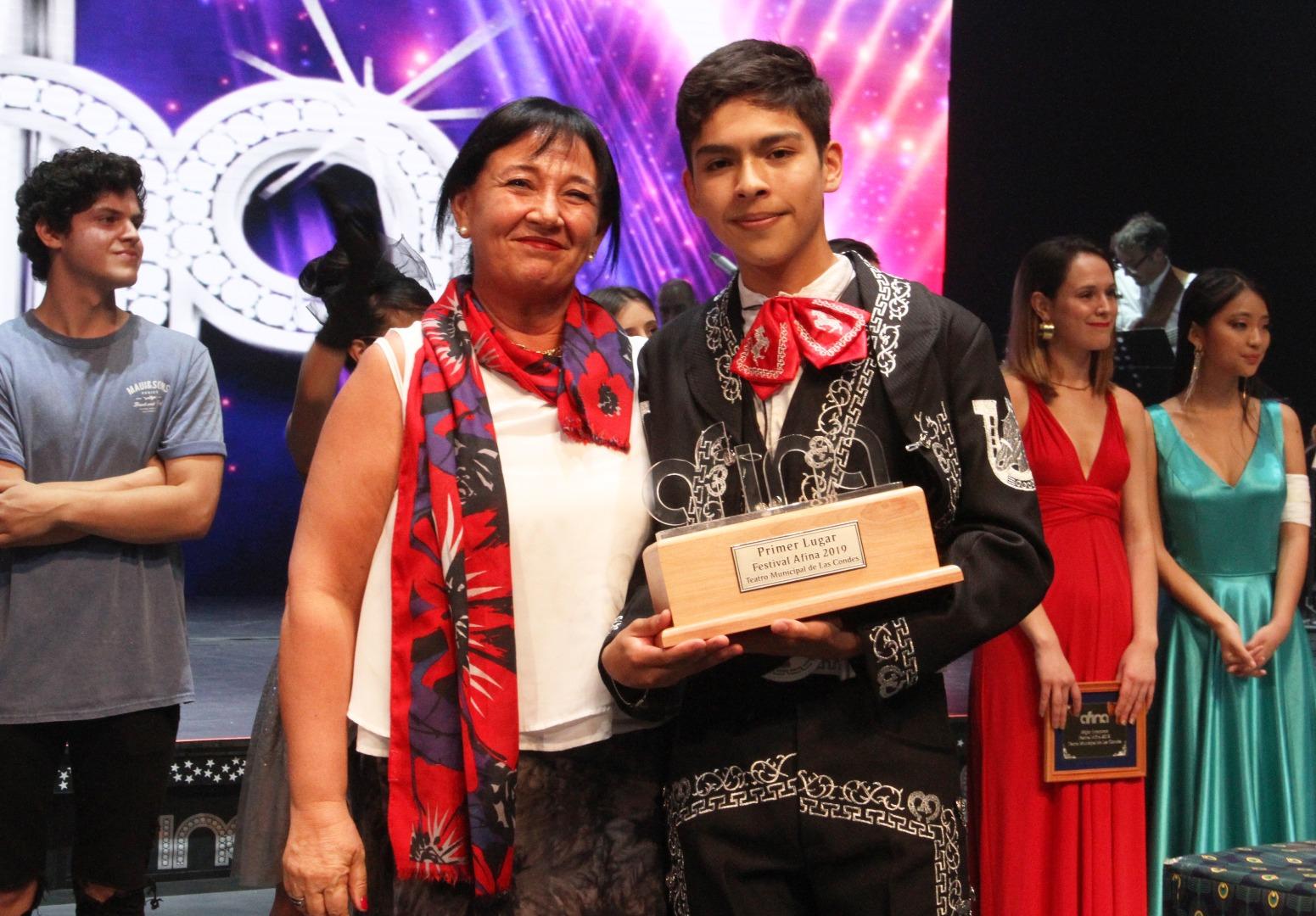 Gerald Flores, ganador de Afina 2019