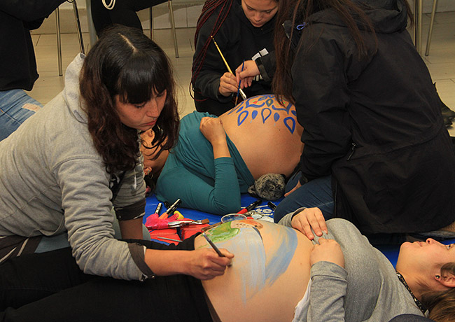 Participaron usuarias embarazadas del CESFAM Dr. Aníbal Ariztía