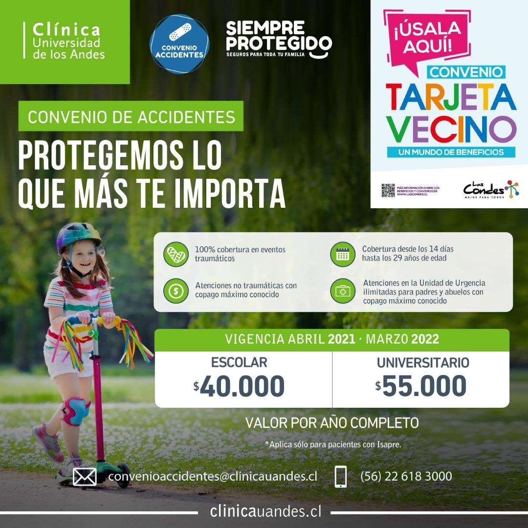 CLINICA UNIVERSIDAD DE LOS ANDES PROMO