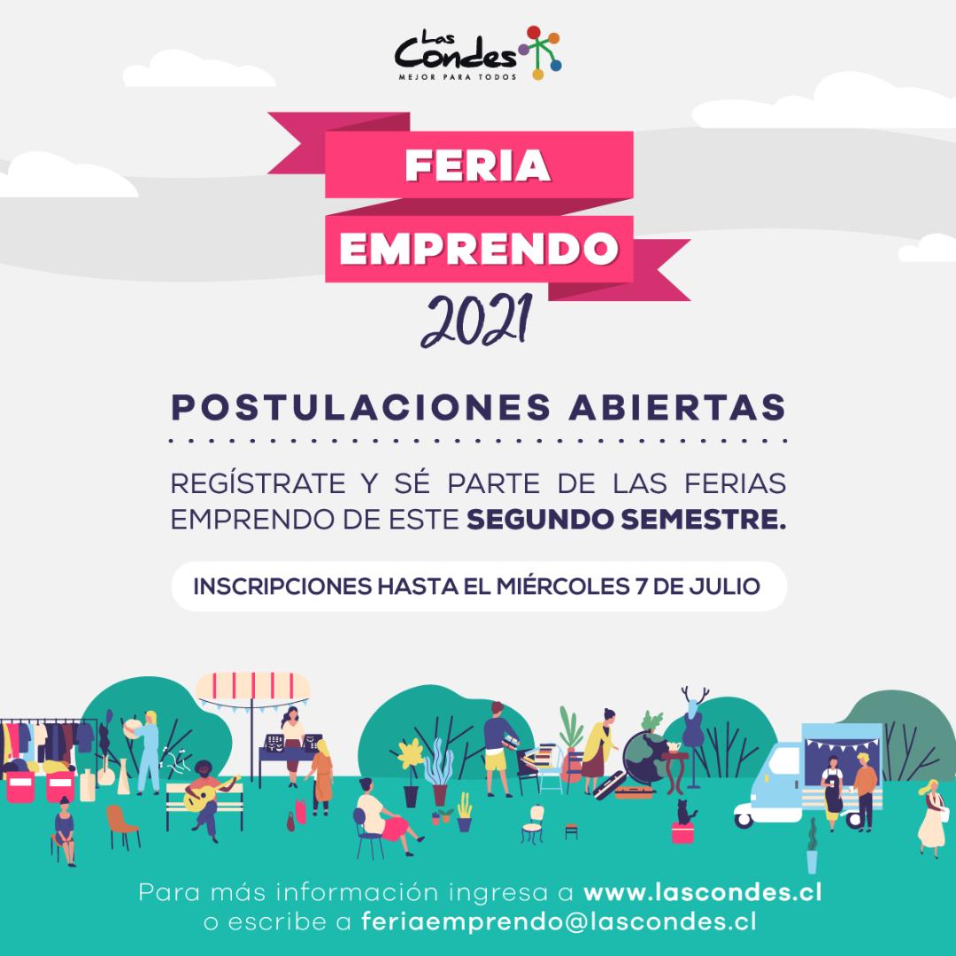 Ferias Emprendo segundo semestre 2021