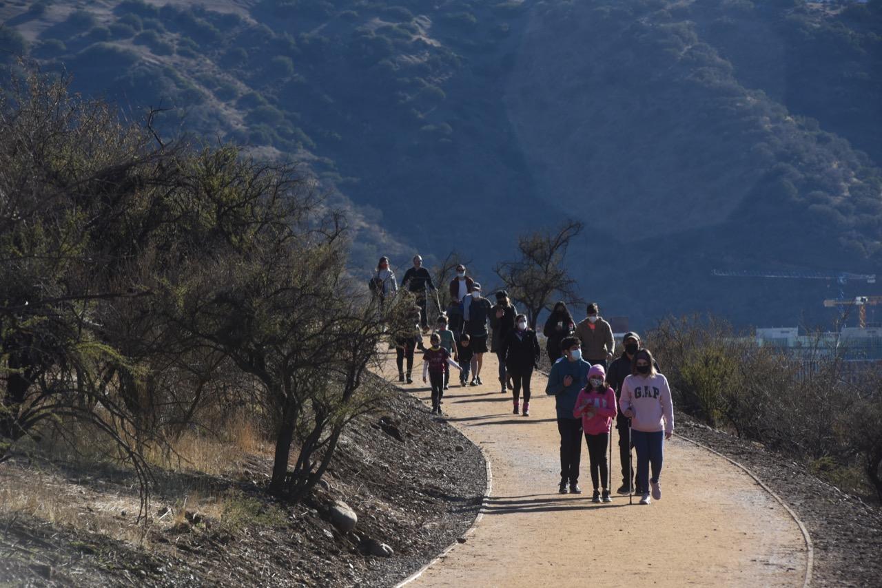 Sendero Cerro Calán